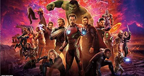 Mural Wallpaper Avengers Photo Marvel Wallpaper 3d Mural De Pared Chico Dormitorio Sala De Estar Diseñador Capitán América Iron Man Rough Stone Equipo De Acción