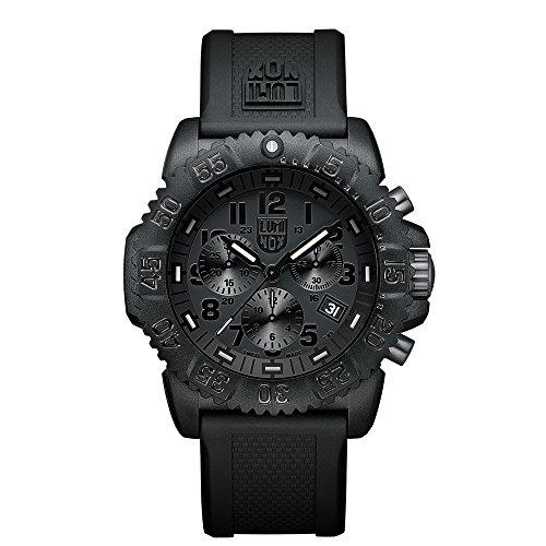 Luminox Navy SEAL Colormark Herren-Armbanduhr Chronograph Quarz Plastik - XS.3081.BO.1