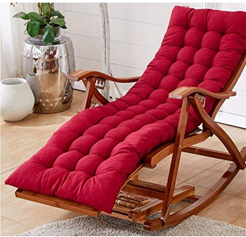 Zero Gravity Lounge Chair Garden Recliner Chairs,Adjustable Outdoor sun loungerss With Cushion Rocking Folding Chair Bamboo Lounge Chair For Patio Or Beach Beach, Balcony, Park Or Campsite