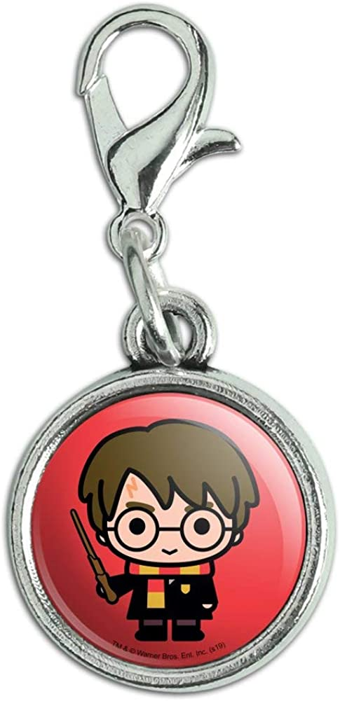 Harry Potter Cute Chibi Character Zipp free Antiqued Pendant Bracelet 2021 model