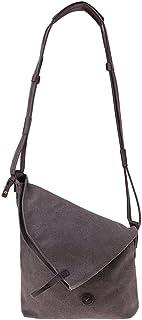 D DOLITY Women Foldable Canvas Crossbody Travel Bag Hobo Shoping Shoulder Bag