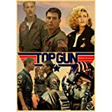 Tv-Serie Top Gun Retro Poster Und Drucke Kunst Leinwand