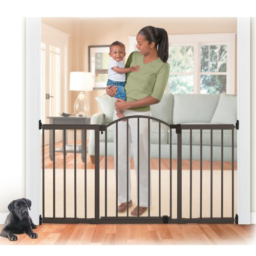 Summer Metal Expansion Gate, 6 Foot Wide Extra Tall Walk-Thru