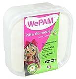 Wepam–PFWNEU145–Pasta modellabile,incolore da dipingere, 145g