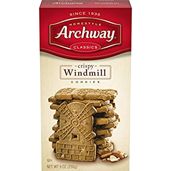 Archway Cookies Crispy Windmill 9 Ounce  Pack of 9