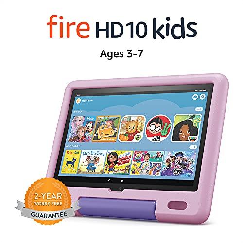 Fire HD 10 Kids tablet, 10.1″, 1080p Full HD