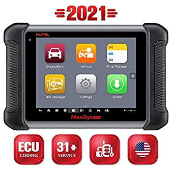 Autel Scanner Maxisys MS906 Automotive Diagnostic Scan Tool  Advanced Version of MaxiDAS DS708 DS808 MK906  with ECU Coding Key Coding Bi-Directional Control Oil Reset ABS SRS DPF EPB TPMS