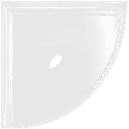 Bright White Ceramic Soap Dish Tray Shower Tub Arctic White Color 0190 Gloss