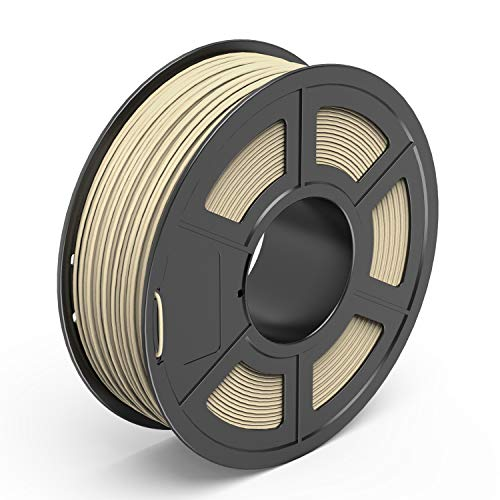 TECBEARS Wood PLA 3D Printer Filament With 1.75mm 1 Kg Spool And Dimensional Accuracy +/- 0.02 mm
