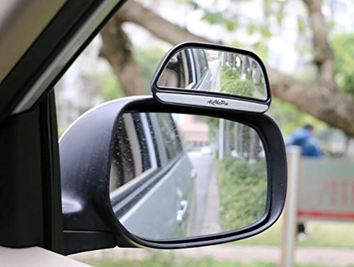 Preisvergleich Produktbild DOGIGIE 2 x verstellbare Autorückspiegel Zusatzspiegel gegen Toten Winkel,  Black