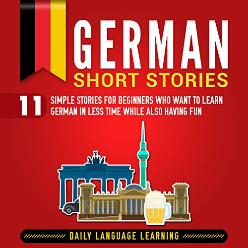German Short Stories audiobook cover art