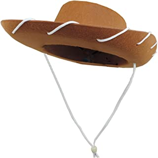 Novelty Giant Children's Western Woody Style Kids Cowboy Ranch Hat Brown
