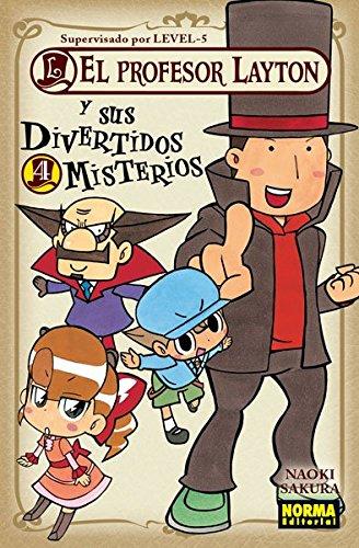 EL PROFESOR LAYTON Y SUS MISTERIOS VOL. 04 (CÓMIC MANGA)