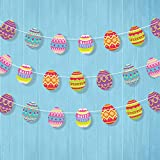 Cheerland 4 Packs Colorful Easter Egg Garland...