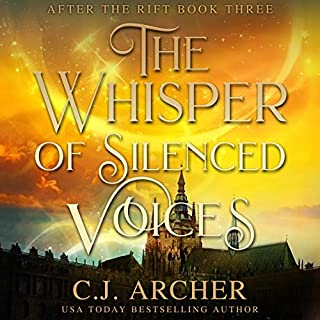 The Whisper of Silenced Voices     After the Rift, Book 3              Written by:                                                                                                                                 C.J. Archer                               Narrated by:                                                                                                                                 Marian Hussey                      Length: 9 hrs and 16 mins     Not rated yet     Overall 0.0