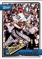 Football NFL 2018 Panini Classics #141 Fred Biletnikoff #141 Legend NM+ Raiders