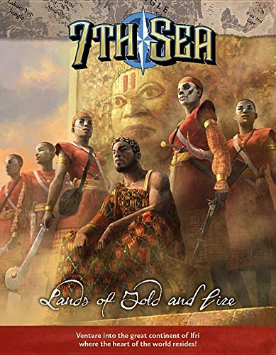 7TH SEA LANDS OF GOLD & FIRE