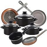 Magefesa Bateria de cocina 7 piezas MAGEFESA Kenia de acero...