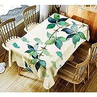 テーブルクロス シンプルなテーブルクロスの新しいファッションの印刷防水コーヒーテーブルクロステーブルクロス (Color : 01, Size : 140*180cm)