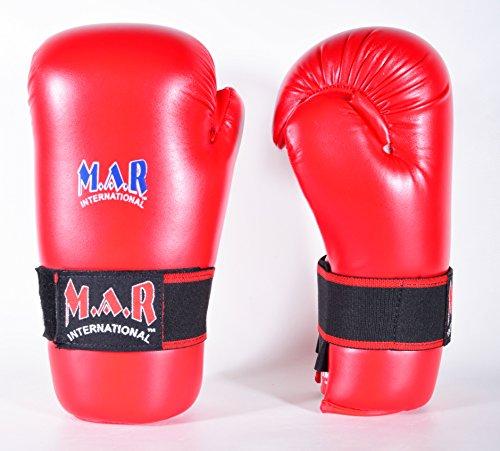 M.A.R International Ltd. MAR Semi Contact Boxhandschuhe rot Kindergröße rot - rot
