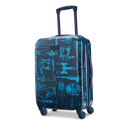 American Tourister Star Wars Hardside Spinner Wheel Luggage, Intergalactic, Carry-On 20-Inch