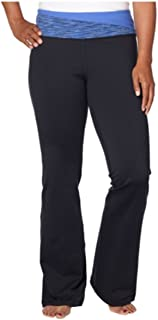 Womens Active Yoga Crossfit Pant, Blue, Small