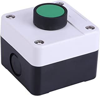 ABS Weatherproof Push Button Switch Station Box One Button Control for Gate Opener