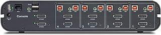 Linksys 4 Port 2 Head Dp/HDMI Universal Skvm W/CAC