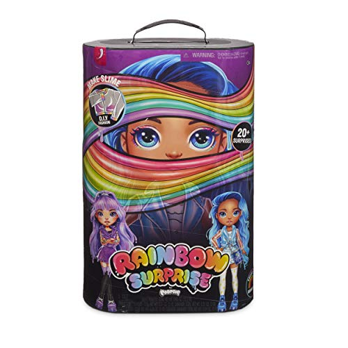 MGA Entertainment 561118E7C Poopsie 561118 Rainbow Surprises Rae or Skye Puppe mit Zubehör, Multi