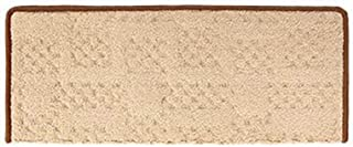JIAJUAN Rectangle Stair Carpet Treads Non-Slip Thick Indoor Staircase Protectors Mats, 14mm, 5 Styles, 4 Sizes (Color : D-...