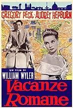 Roman Holiday Movie Poster (27 x 40 Inches - 69cm x 102cm) (1953) Italian -(Audrey Hepburn)(Gregory Peck)(Eddie Albert)(Tullio Carminati)