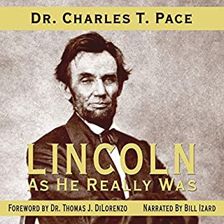 Lincoln as He Really Was audiobook cover art