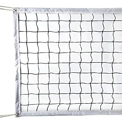 GeWeDen Replacement volleyball net Replacement Netting System Standard Size (32 FT x 3 FT) Poles Not Included