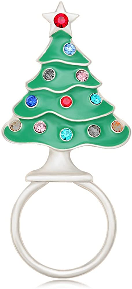 BEICHUANG Coloful Crystal Christmas Houston Mall We OFFer at cheap prices Magnetic Strong Eyeglas Tree