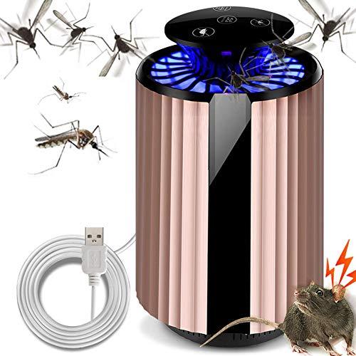 Muggendoder Lamp Met Uv Licht, Echografie Muis Afstotend, Usb Oplaadbare Muggendoder Lamp Voor Binnen En Buiten