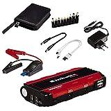 Einhell Sistema di avviamento d'emergenza dell'auto CE-JS 12 (sistema di avviamento d'emergenza e di accumulazione dell'energia, set per avviamento di emergenza, adattatore incluso)