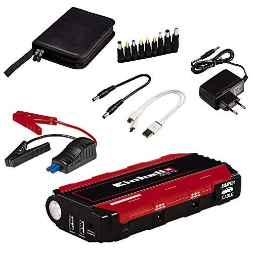 Einhell CE-JS autostarthulp (starthulp & energiestation, mobiele stroomvoorziening, laadstandindicator, starthulp) CE-JS 12