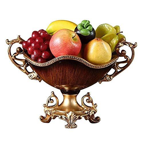 Cesta de Frutas para Mostrador Organizador Cocina Resina de frutas placa de tuerca rectángulo de la fruta Placa de ensalada de frutas creativo bandeja cuenco de almacenamiento, placa Mesa alta Pie She