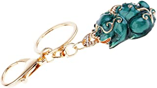 NATFUR Pi Yao/Pi Xiu Keychains Attract Wealth Luck Women Bag Key Rings #1 Elegant Pretty for Men Perfect for Gift Beautiful Fine Goodly