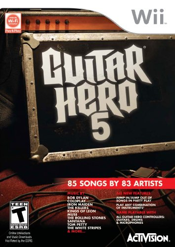 ACTIVISION-Guitar Hero 5 Stand Alone Software (Bilingual game-play)
