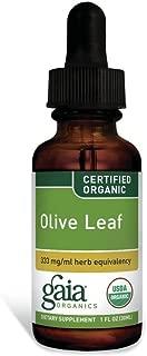 GAIA HERBS Olive Leaf Supplements, 1 oz