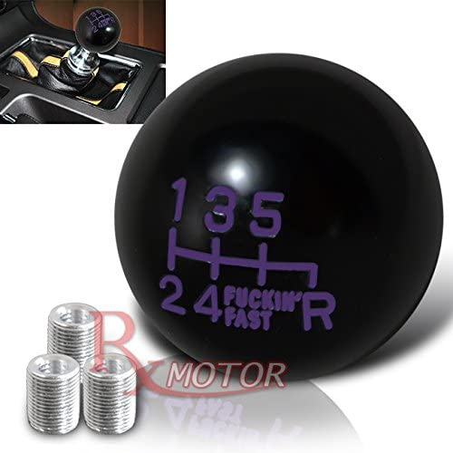Purchase Rxmotor Fing Fast Shift Knob for 6 M + Speed Short Shifter Throw All items free shipping