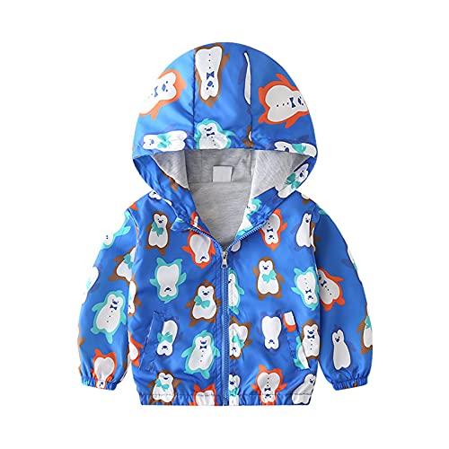 Chaqueta de beb para nios de verano cortavientos abrigo delgado con capucha chaquetas para nios pequeos dinosaurio proteccin solar ropa bombardero abrigos animados Tops
