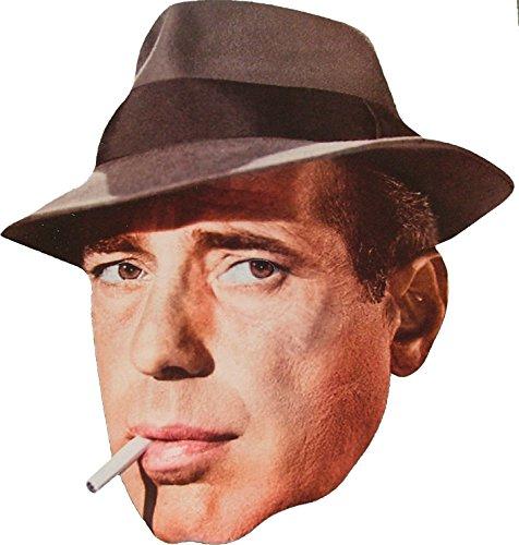 Movie Stars Hollywood Star - Humphrey Bogart -Gesichtsmasken aus steifen Karten