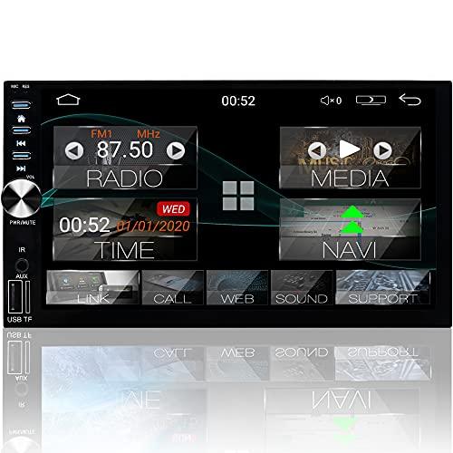 "Tristan Auron BT2D7026A Android 10.0 Autoradio mit Navi - 7\"" Touchscreen GPS Bluetooth Freisprecheinrichtung I 32GB MirrorLink USB SD DAB Plus OBD 2 DIN"