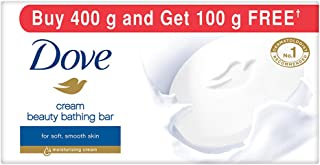 Dove Cream Beauty Bathing Bar, 100g (Buy 4 Get 1 Free)