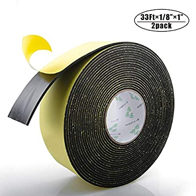 Foam Tape, Weather Stripping for Doors and Window High Density Foam Seal Tape Sliding Door Weather Strip