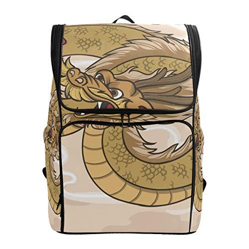 DXG1 - Mochila con tatuaje de animal marrón para mujeres, hombres, adolescentes, niño, bolso de moda, bolsa de libros, viajes, colegio, casual, mochila de regreso a casa, suministros de gran capacidad