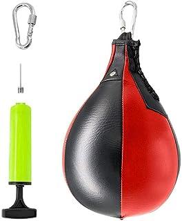 Boxen Speedball Doppel Ende Boxsack Aufblasbar Body Building Equipment Neu