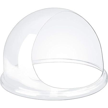 Royal Catering Bulle de Protection pour Machine à Barbe à Papa RCZW-COV12E (diamètre env. 52 cm, verre acrylique, 54x54x35,5cm)